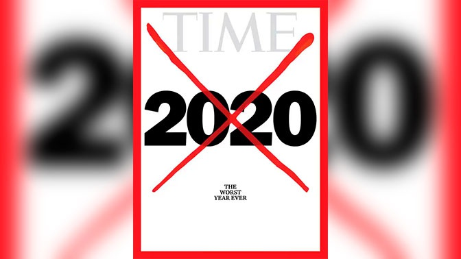 Ведущий журнал назвал 2020 год ухудшим вистории