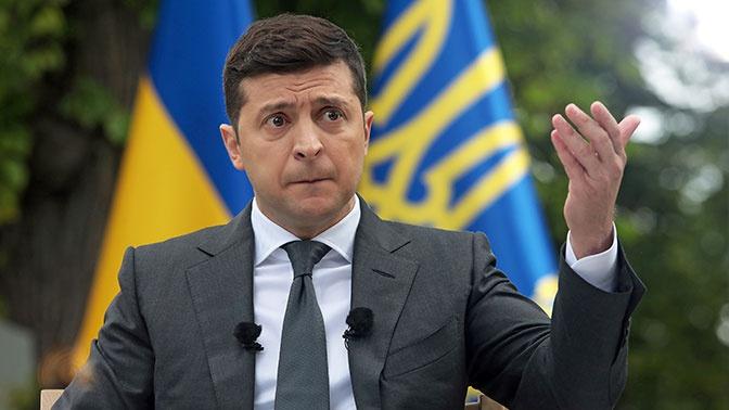 Зеленский встретился с украинскими военнослужащими в Донбассе