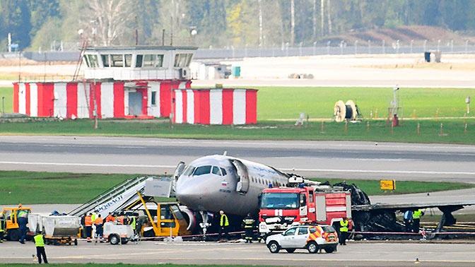 Катастрофа с SSJ100 в Шереметьево произошла из-за техники пилотирования