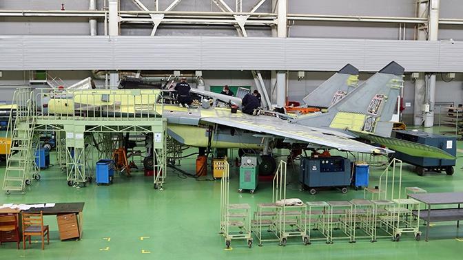 Сборка модернизированных истребителей МиГ-29 в Подмосковье