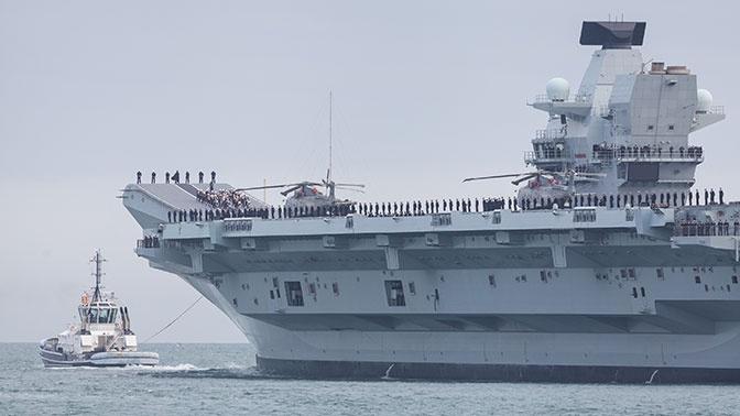 «Других авианосцев у Британии нет»: эксперт прокомментировал аварию на корабле «Принц Уэльский»