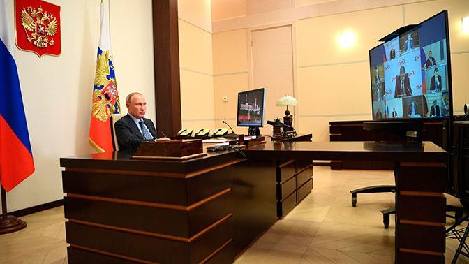«Важный ресурс для тысяч предприятий»: Путин провел совещание по развитию РЖД