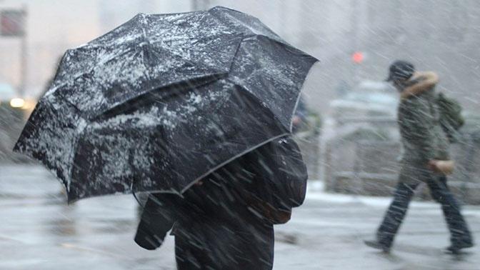 Сильный ледяной дождь может привести к возникновению ЧС в ряде регионов России