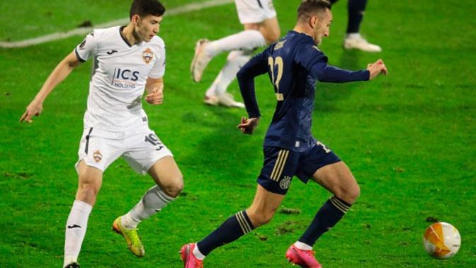 ЦСКА проиграл загребскому «Динамо» в Лиге Европы