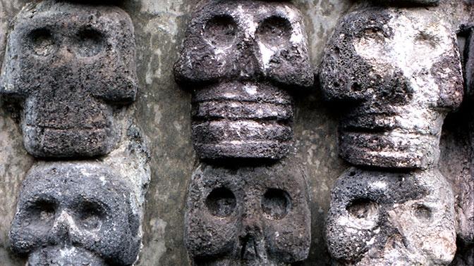 Археологи нашли новые детали «ацтекской башни черепов»
