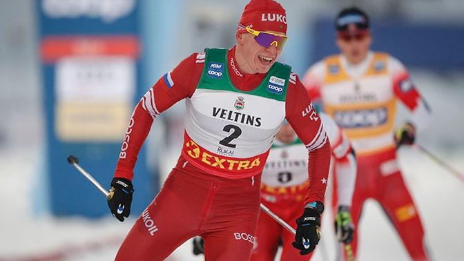 Российские лыжники заняли призовые места на этапе Кубка Мира в Давосе