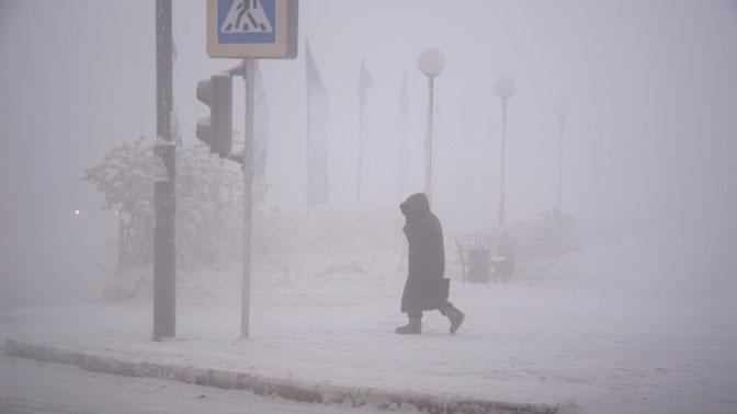 Якутию сковали 50-градусные морозы