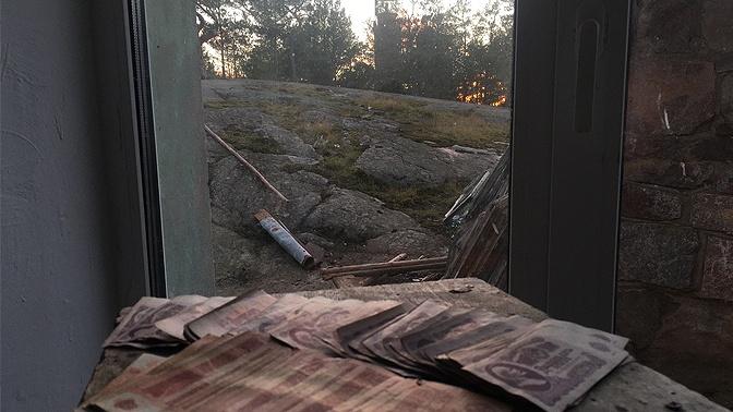 Смотрители маяка нашли советский клад на острове Большой Тютерс в Финском заливе