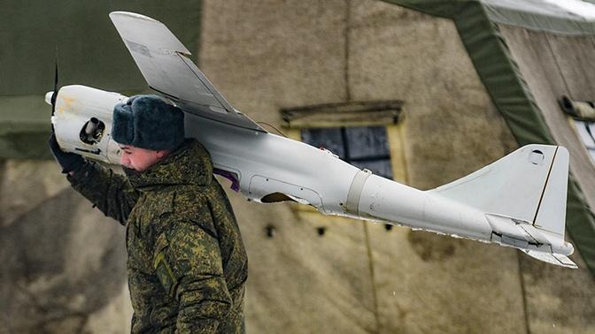 Горные мотострелки Тывы получили комплекс БПЛА «Орлан-10»