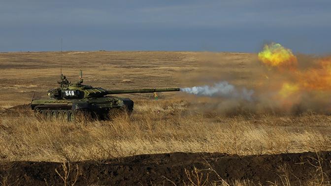 Подготовка к «Танковому биатлону» АрМИ-2021