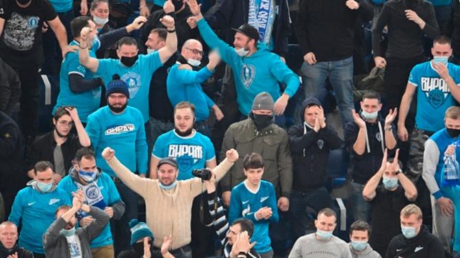 На игре «Зенита» и «Спартака» предотвратили массовую драку фанатов