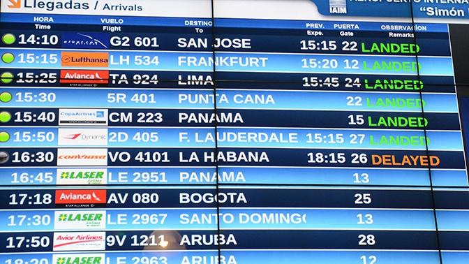 Власти Венесуэлы заявили о готовности возобновить полеты в Россию