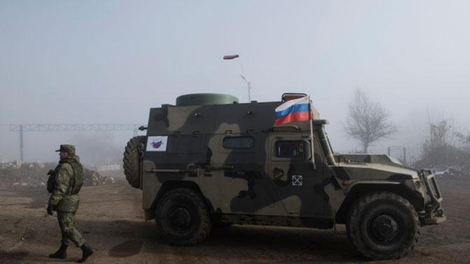 Шойгу подчеркнул важность работы российских миротворцев на территории Нагорного Карабаха
