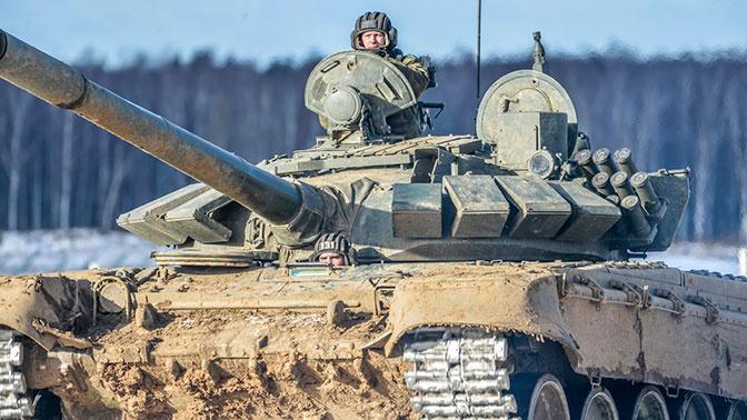 Сначала головную, потом замыкающую: танкисты ЗВО отточили мастерство засад
