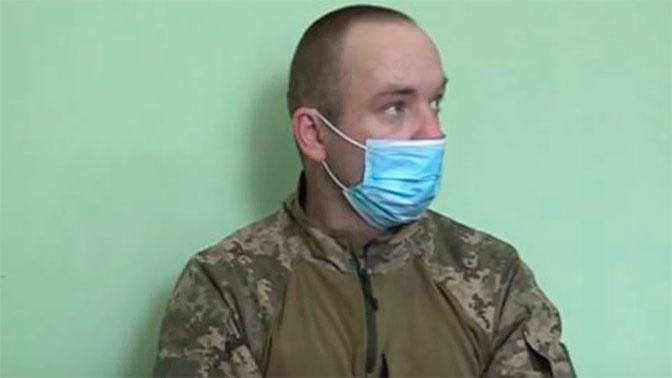 Украинский военный в состоянии наркотического опьянения забрел на позиции ЛНР