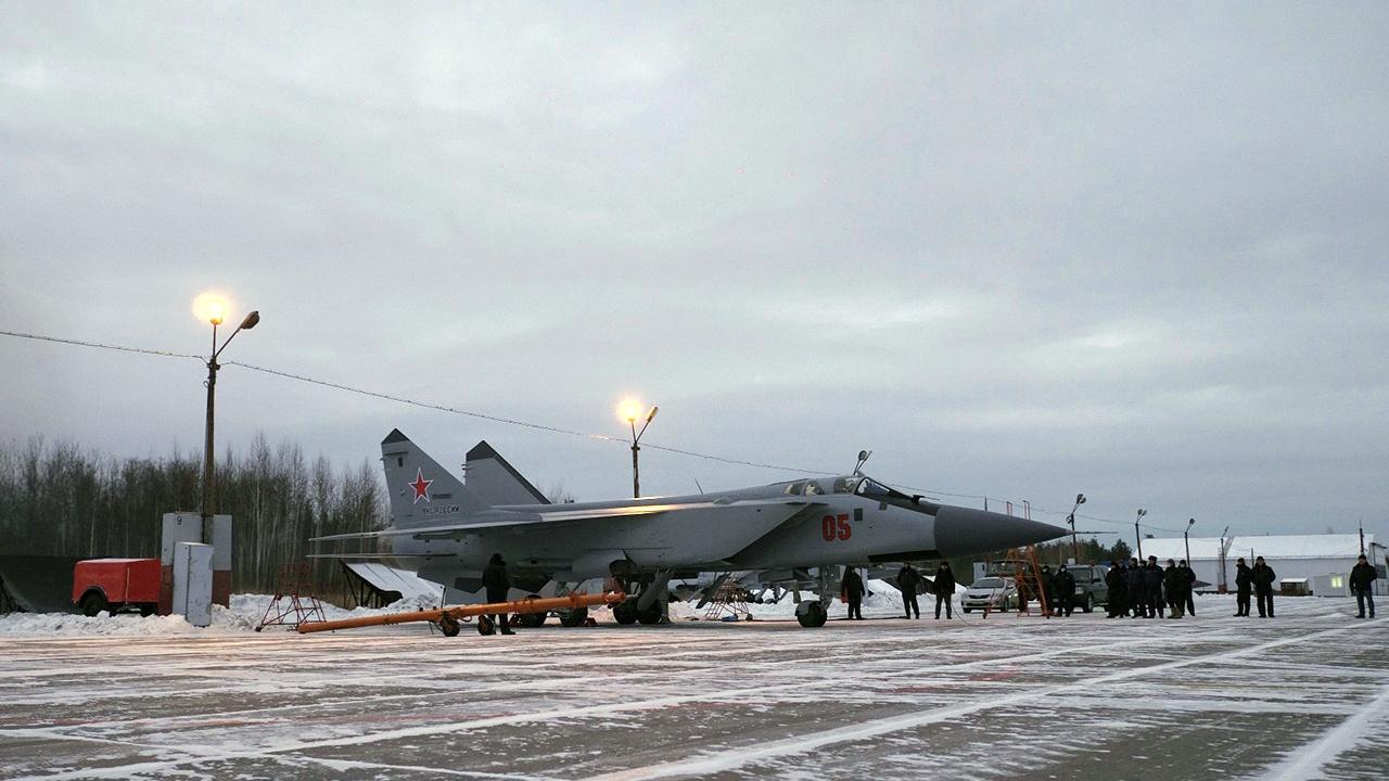 Завершена модернизация партии истребителей-перехватчиков МиГ-31