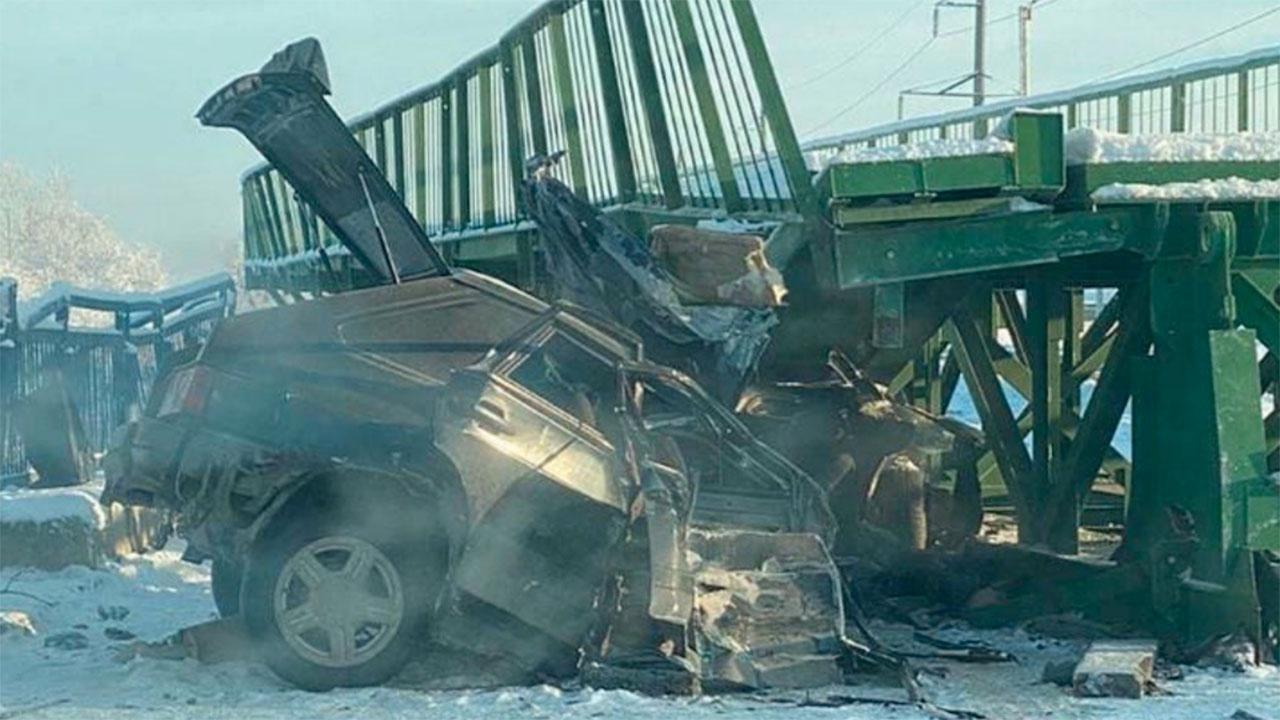 Два человека погибли при обрушении моста в Дагестане