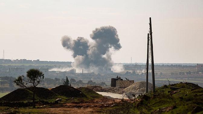 Боевики в Идлибе обстреляли российский бронетранспортер