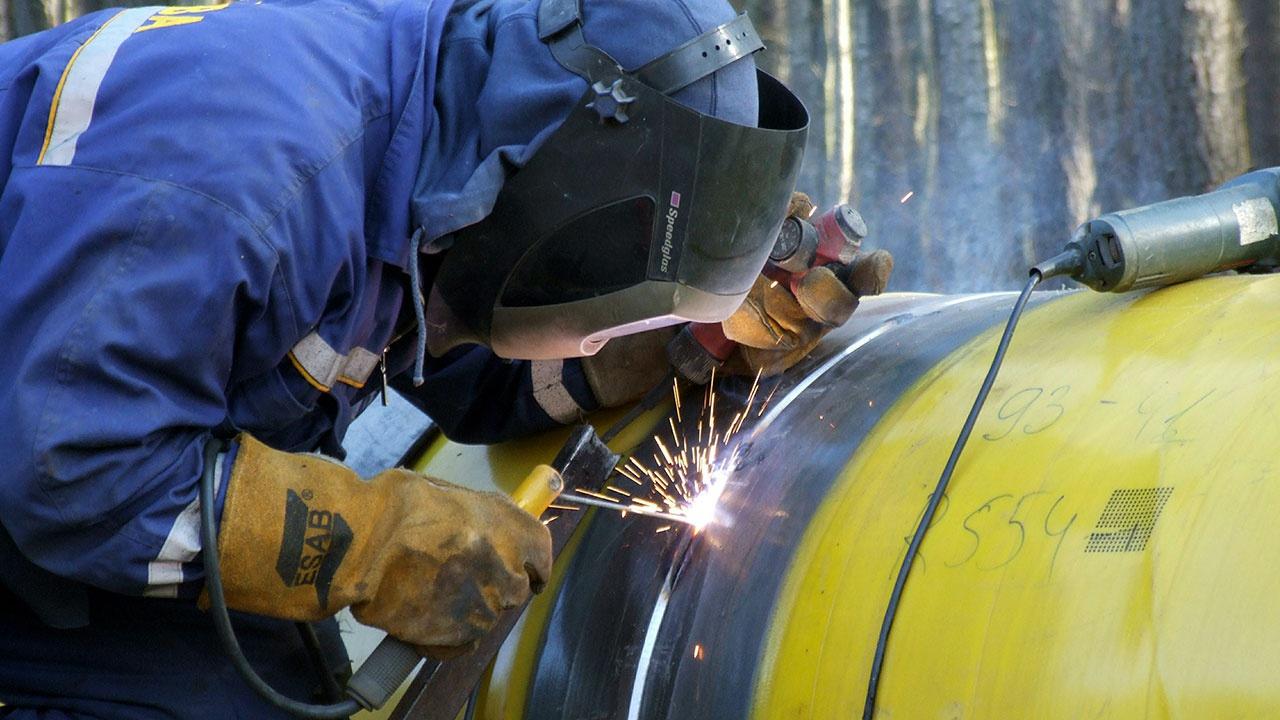 Украина почти на 40% снизила транзит газа в 2020 году