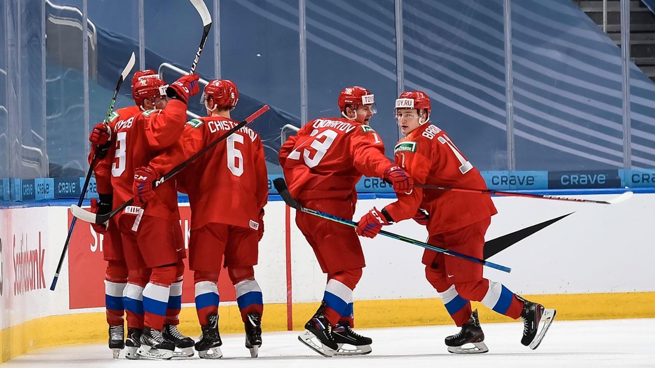 Определился соперник сборной России по полуфиналу хоккейного молодежного чемпионата мира