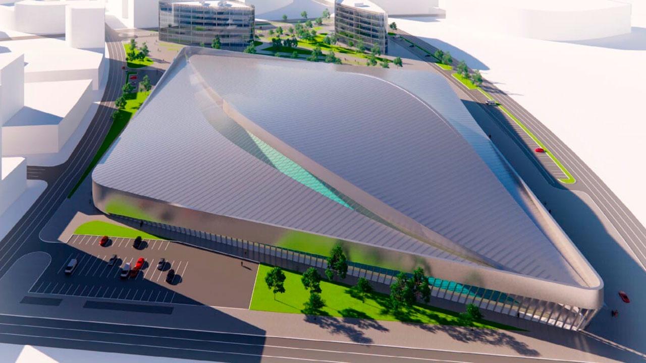 В Москве построят первый в мире крытый центр для занятий серфингом с пальмами и пляжами