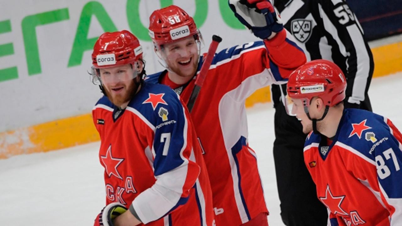 ЦСКА одержал победу над «Йокеритом» в матче КХЛ