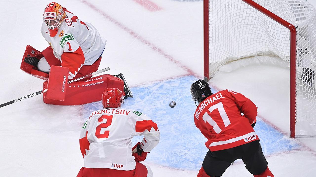 Главный тренер высказался о разгроме молодежной сборной РФ по хоккею в матче с канадцами