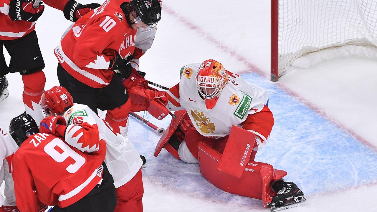 Сборная Канады разгромила Россию в полуфинале МЧМ-2021