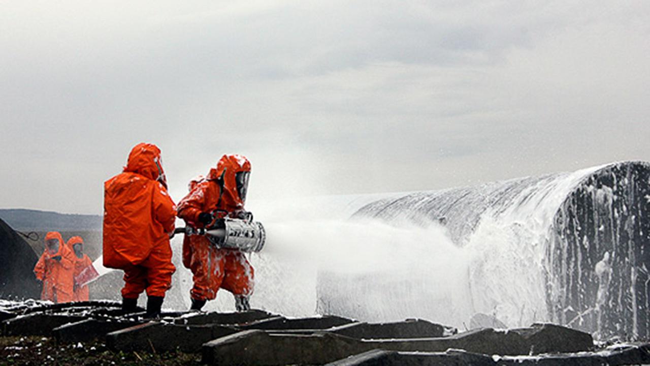 Тренировка ВВО по противопожарной безопасности прошла в Забайкалье