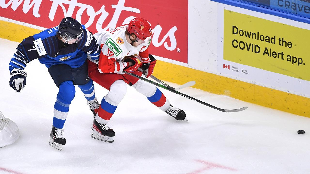 Россия проиграла Финляндии в матче за бронзу на МЧМ-2021