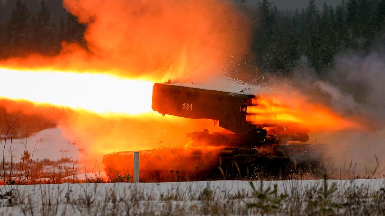 Выжигающий дотла: войска РХБЗ получат модернизированный «Солнцепек»