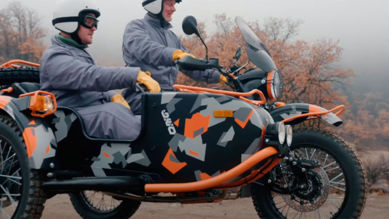 «Завораживающее безумие»: в США оценили новый мотоцикл Ural