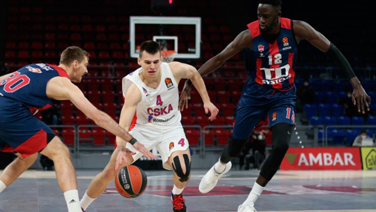 ЦСКА прервал серию побед в баскетбольной Евролиге из-за проигрыша «Басконии»