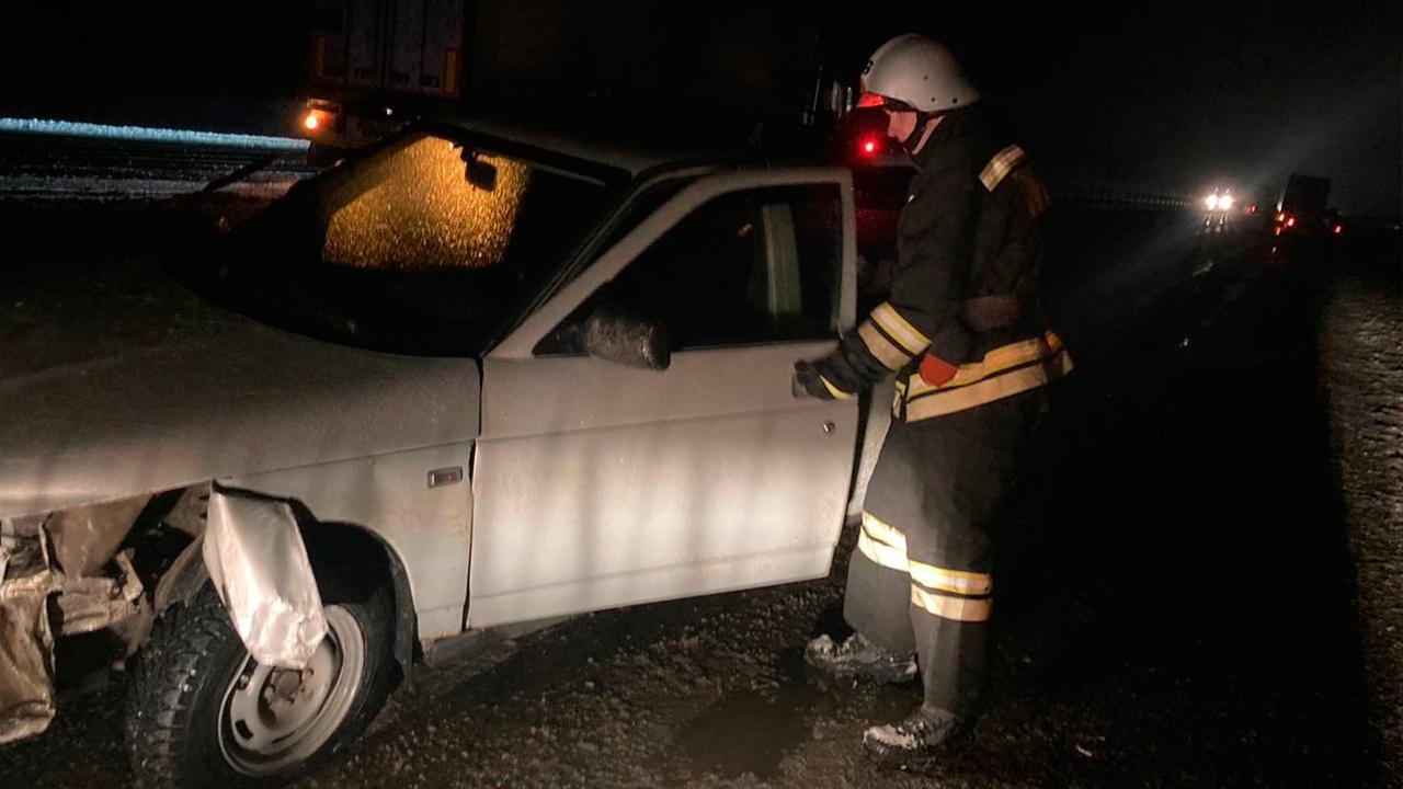 Восемь машин столкнулись на трассе «Кавказ»