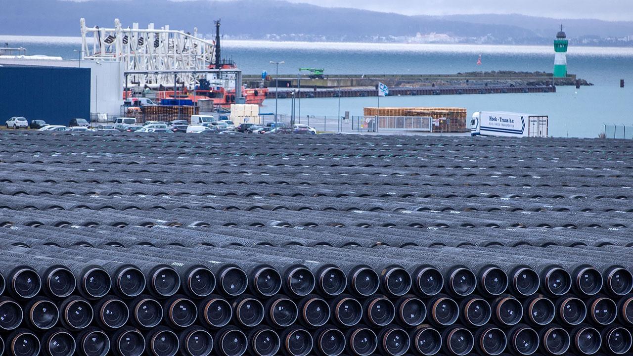 Российские суда направляются к месту строительства «Северного потока - 2»