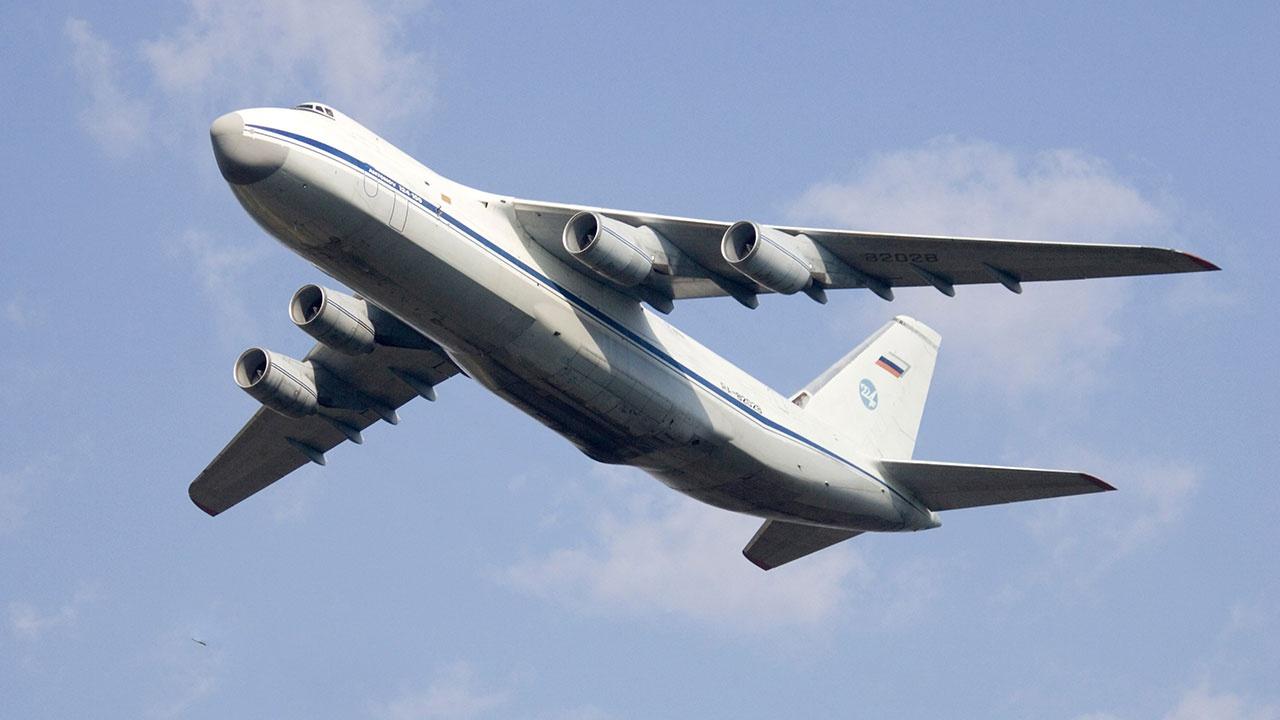 ВКС РФ подняли в воздух сразу шесть Ан-124 «Руслан»