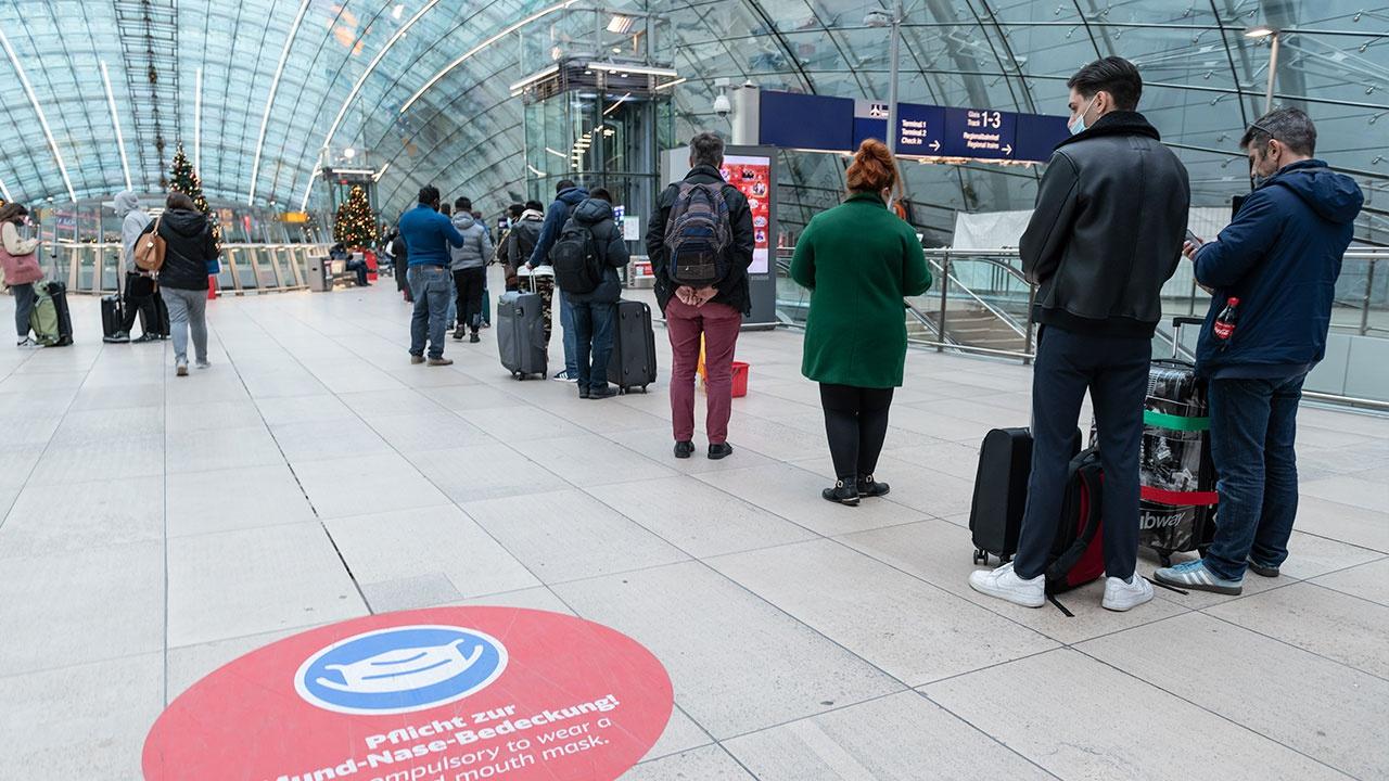 Полицейская спецоперация проходит в аэропорту Франкфурта