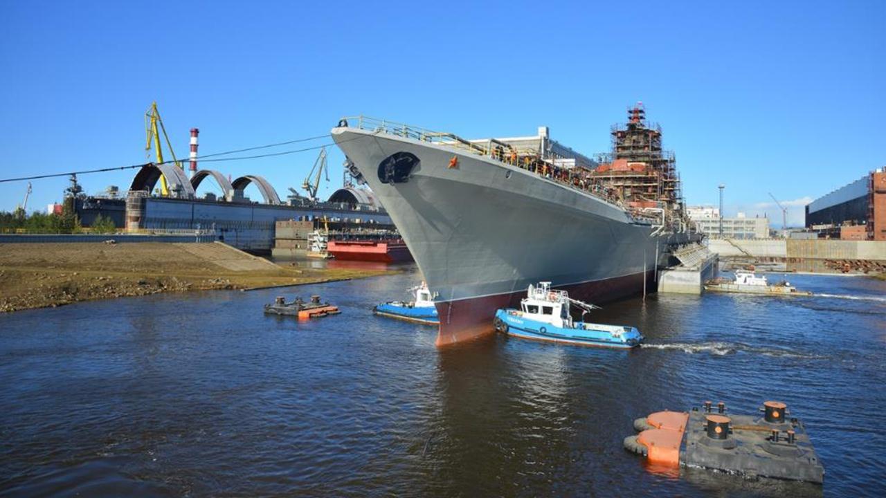 Атомный крейсер «Адмирал Нахимов» готовят к испытаниям