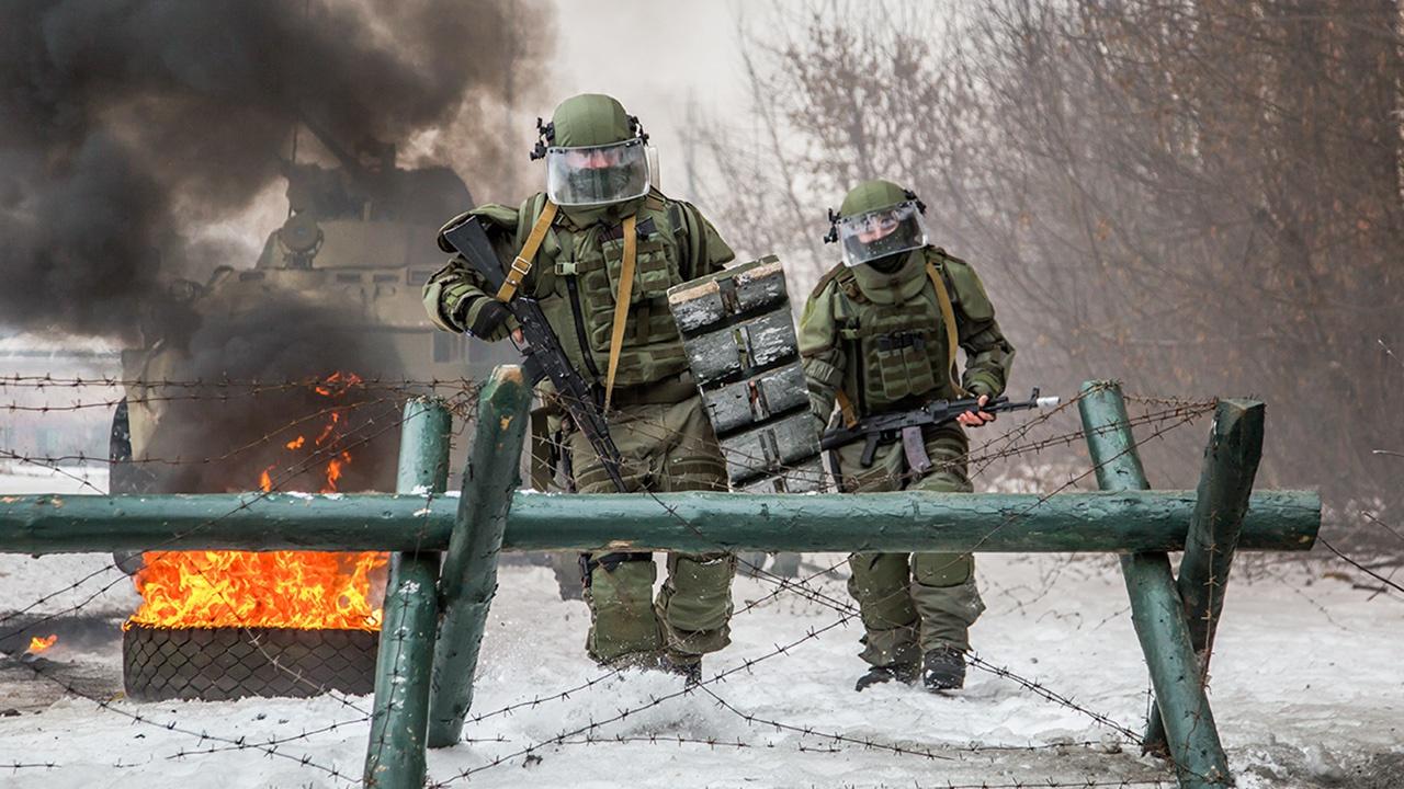 Инженерные войска России отмечают 320-ю годовщину