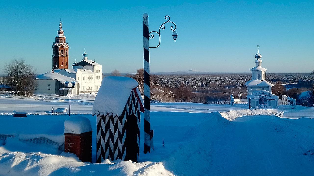 Старинный город в Пермском крае получил статус достопримечательности
