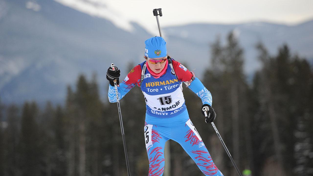 Российская биатлонистка Васнецова выиграла спринт на этапе Кубка IBU в Германии