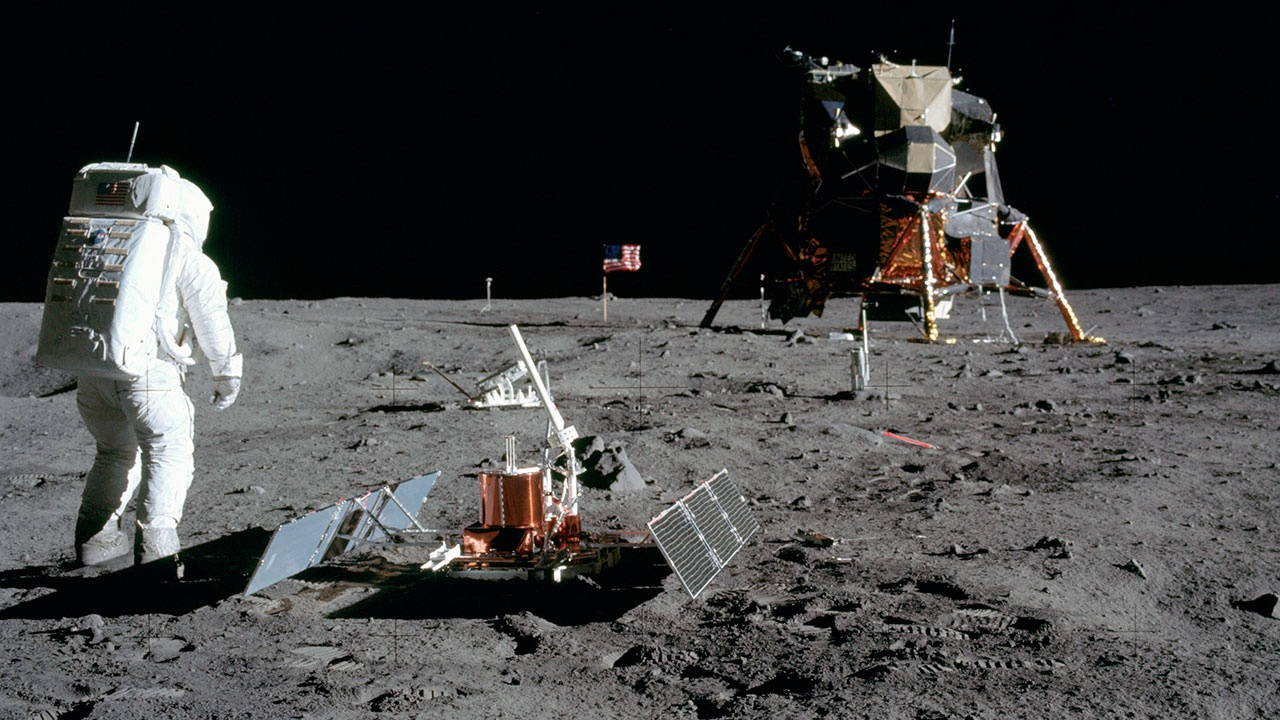 Стало известно о серьезной аномалии, угрожавшей экипажу «Аполлон-11» во время миссии на Луну