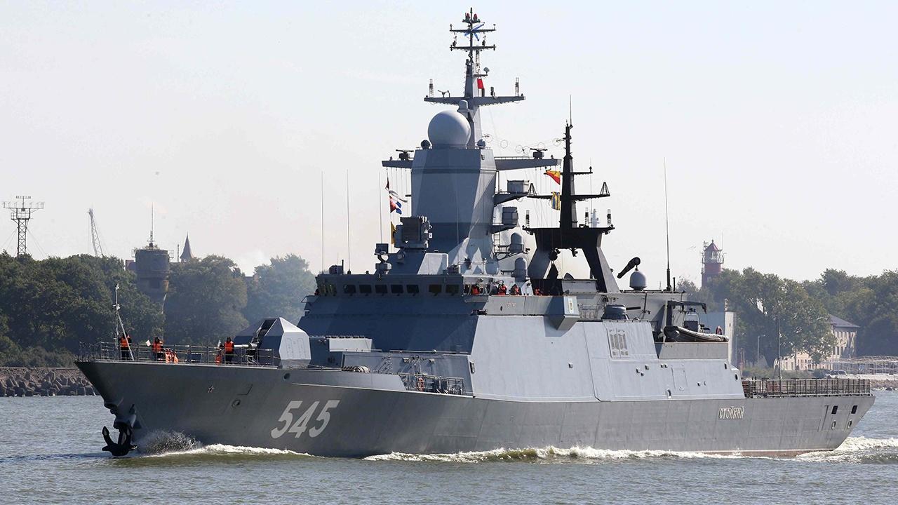 Корвет «Стойкий» выполнил ракетные и артиллерийские стрельбы в  Средиземном море
