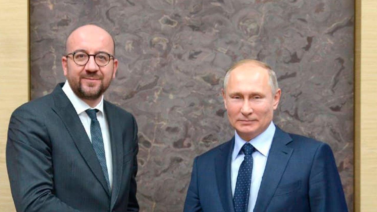 Путин обсудил с главой Евросовета важность укрепления глобального мира