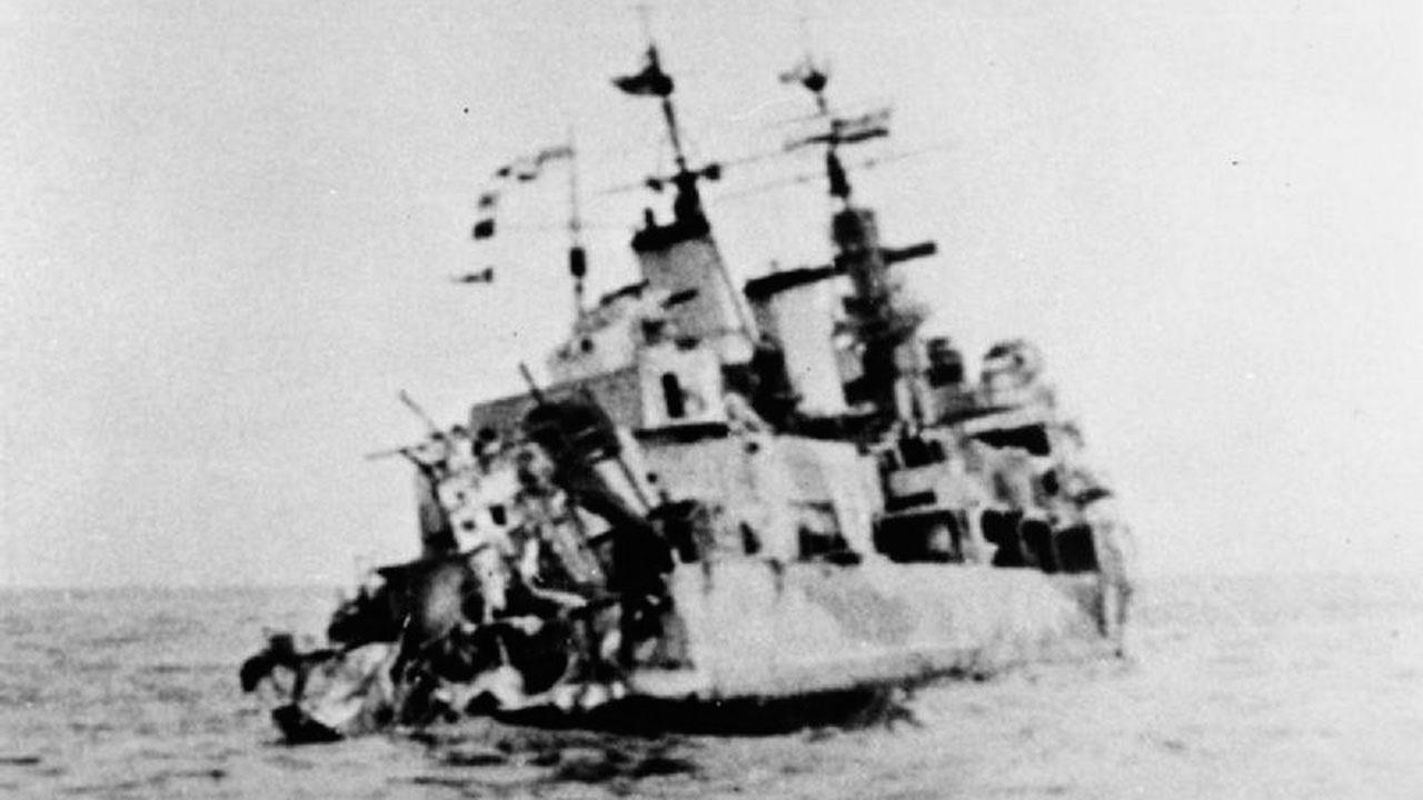 Корабль сокровищ: затонувший во время войны британский крейсер более полувека хранил 465 золотых слитков