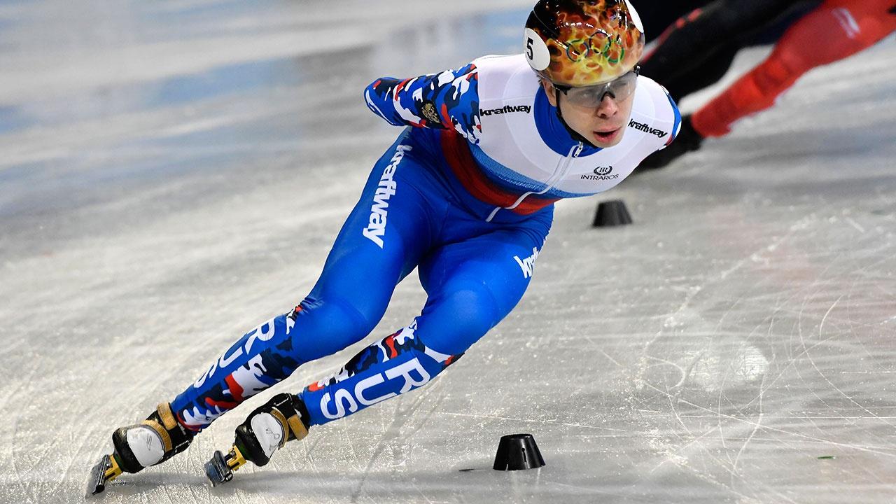 Елистратов завоевал золотую медаль на чемпионате Европы по шорт-треку
