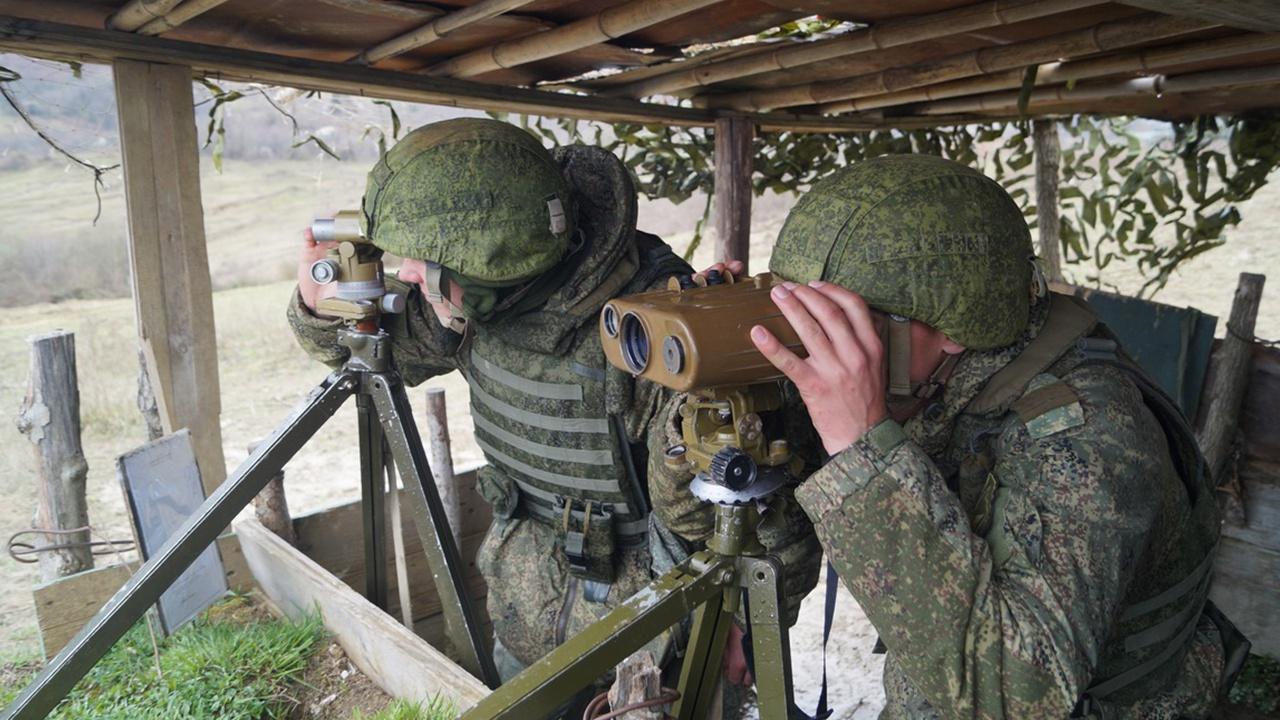 «Колесо» учения: российские военнослужащие в Абхазии приступили к боевой подготовке по модульной системе