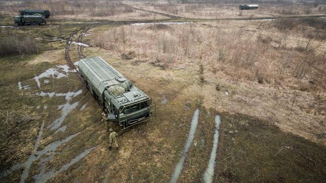 «Искандеры» отработали пуски ракет в Краснодарском крае