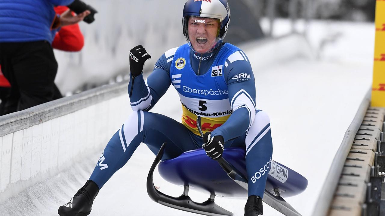 Репилов взял золото на чемпионате мира по санному спорту