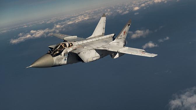 МиГ-31 сопроводил над Баренцевым морем самолет-разведчик ВВС Норвегии